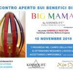 EVENTO 10-11-2019 | BIG MAMA: benessere a 360°