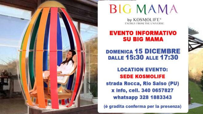 EVENTO INFORMATIVO BIG MAMA